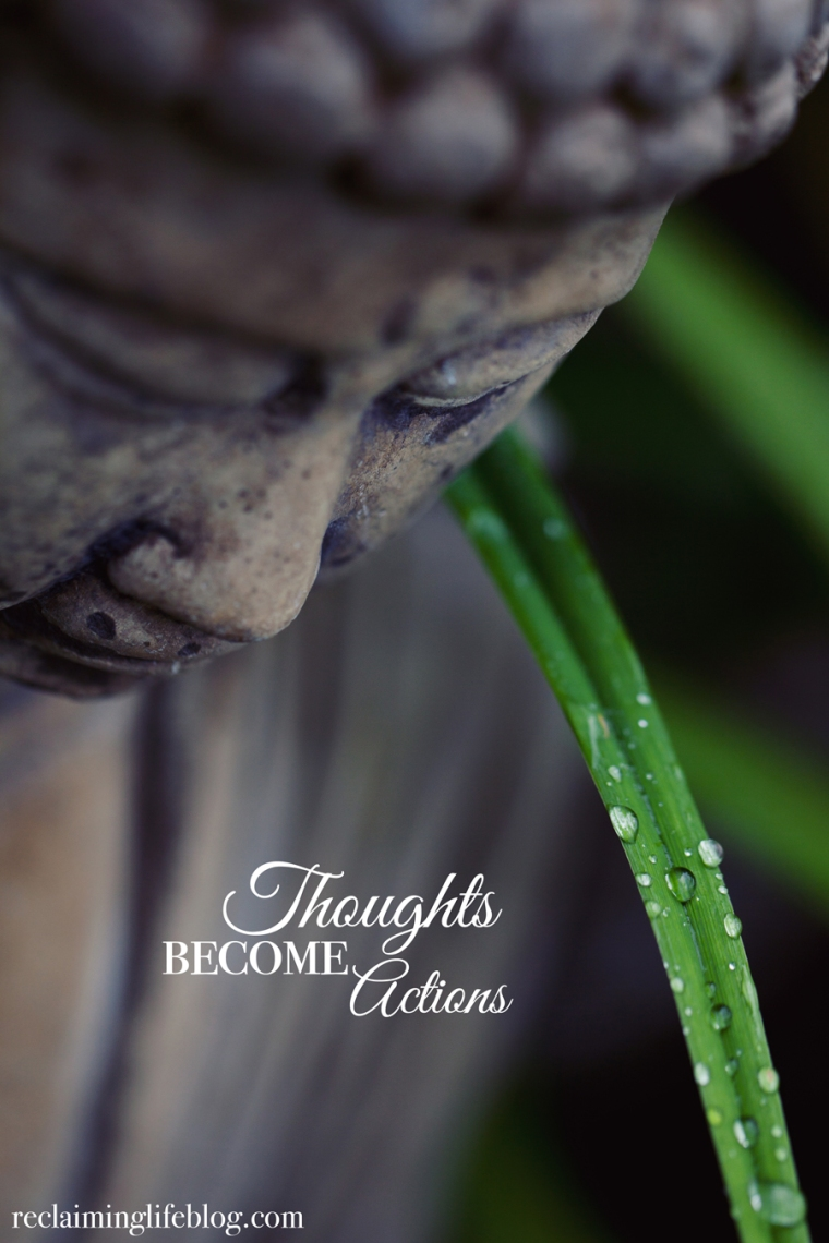 Thoughts become actions Christine Hopaluk web